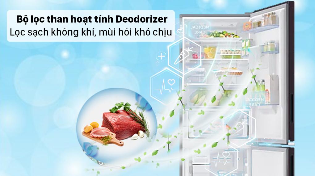 Tủ lạnh Samsung Inverter 307 lít RB30N4190BY/SV - Lọc không khí, mùi hôi