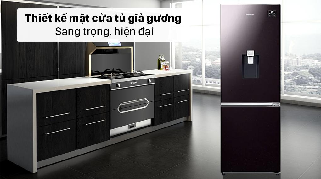 Tủ lạnh Samsung Inverter 307 lít RB30N4190BY/SV - Thiết kế sáng trọng hiện đại