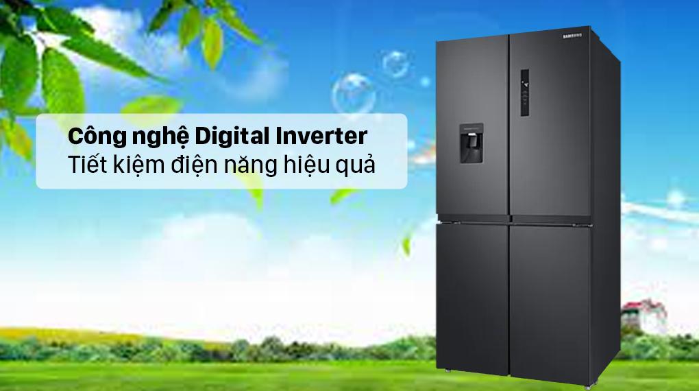 Tủ lạnh Samsung Inverter 488 lít RF48A4010B4/SV - Công nghệ Digital Inverter