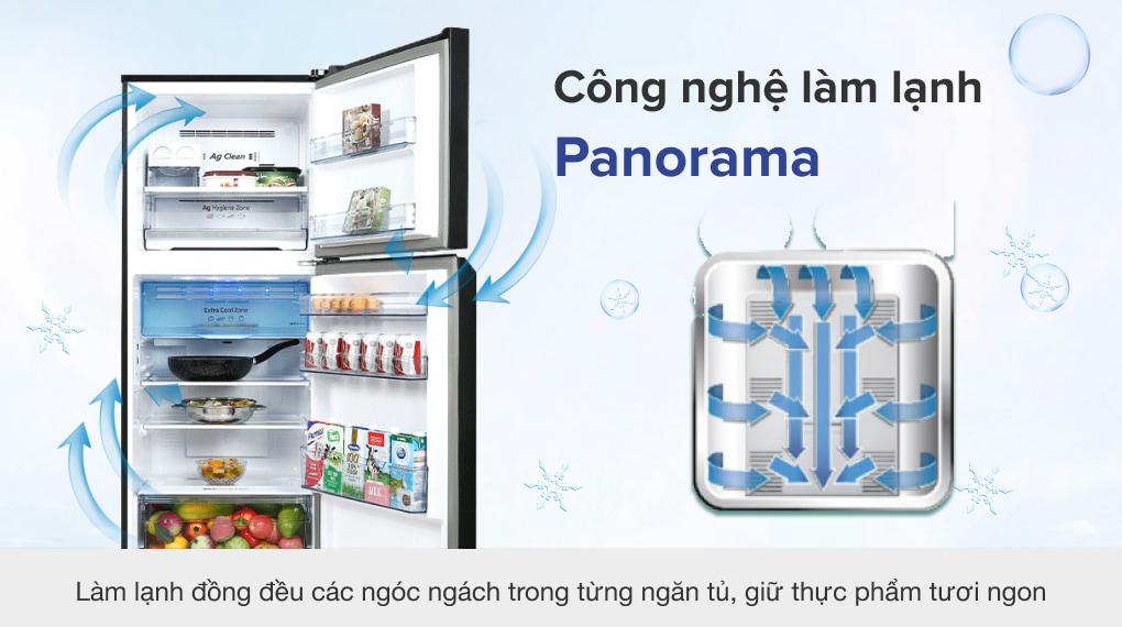 Tủ lạnh Panasonic Inverter 326 lít NR-TL351VGMV - Công nghệ làm lạnh Panorama