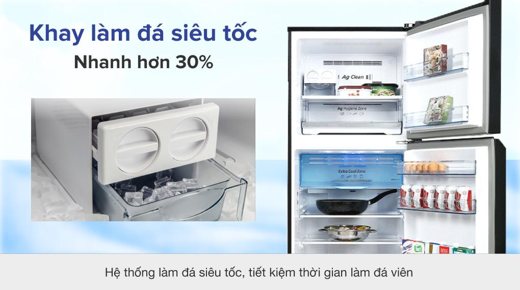 Tủ lạnh Panasonic Inverter 326 lít NR-TL351VGMV - Làm đá siêu tốc