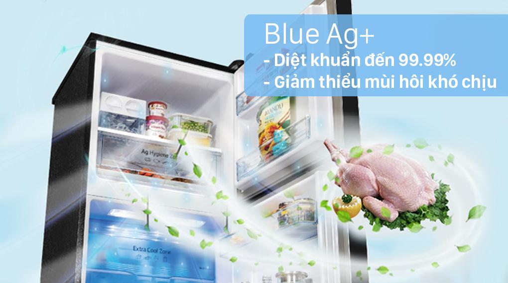 Tủ lạnh Panasonic Inverter 366 lít NR-TL381GPKV - Công nghệ Blue Ag+