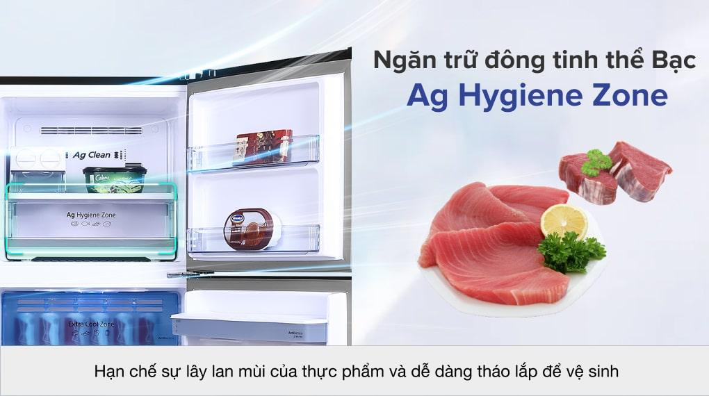 Tủ lạnh Panasonic Inverter 366 lít NR-TL381GPKV - Ngăn trữ đông