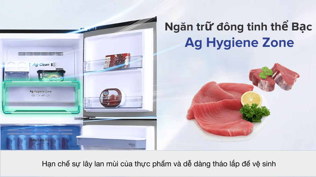 Tủ lạnh Panasonic Inverter 366 lít NR-TL381GPKV - Ngăn trữ đông Ag Hygiene Zone