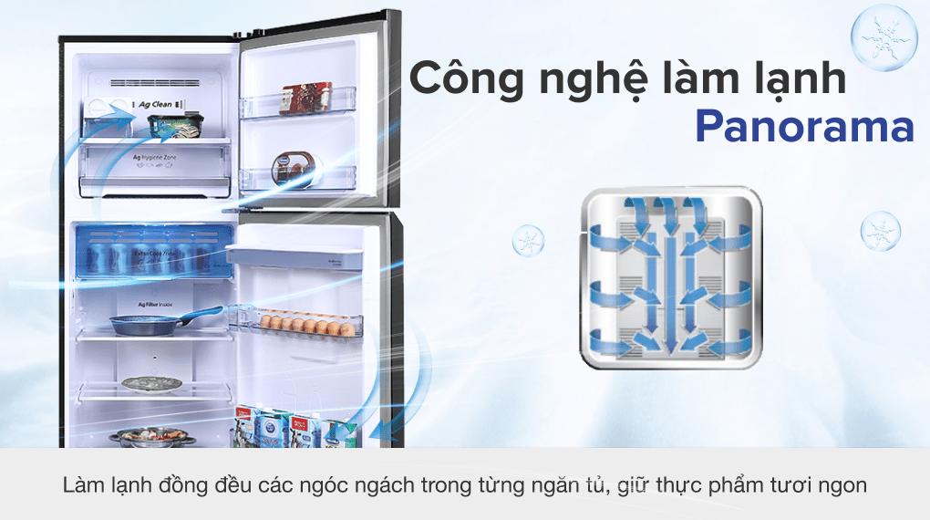 Tủ lạnh Panasonic Inverter 366 lít NR-TL381GPKV - Công nghệ làm lạnh Panorama