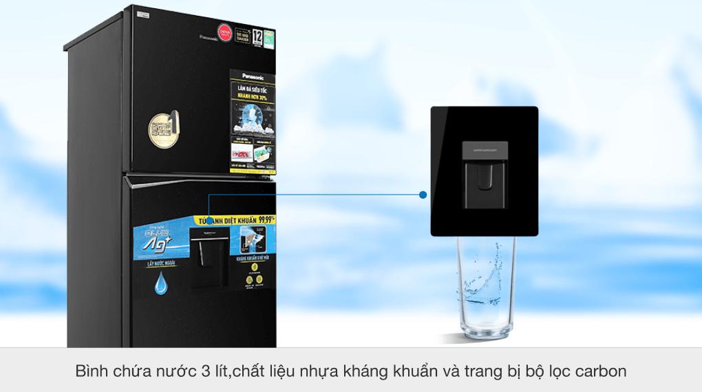 Tủ lạnh Panasonic Inverter 366 lít NR-TL381GPKV - Lấy nước ngoài