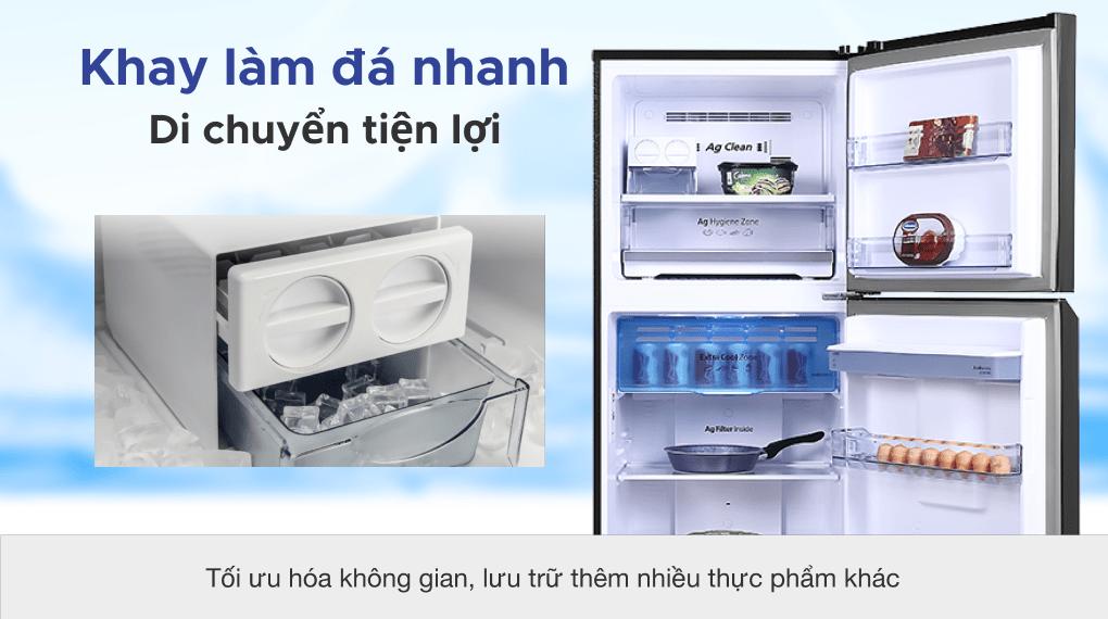 Tủ lạnh Panasonic Inverter 366 lít NR-TL381GPKV - Làm đá siêu tốc