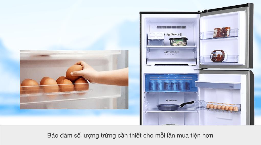 Tủ lạnh Panasonic Inverter 366 lít NR-TL381GPKV - Khay đựng trứng