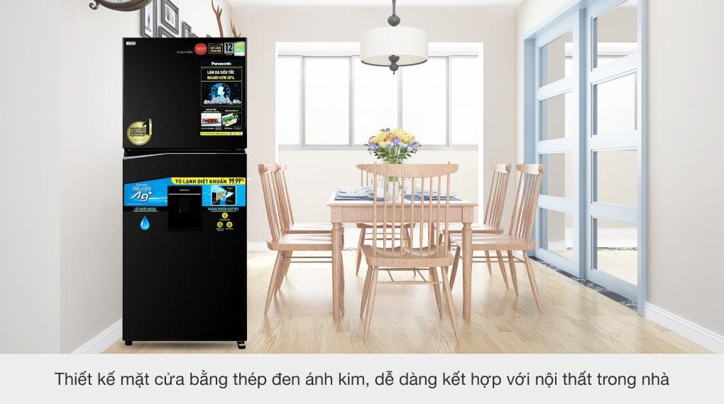 Tủ lạnh Panasonic Inverter 326 lít NR-TL351GPKV - Thiết kế sang trọng