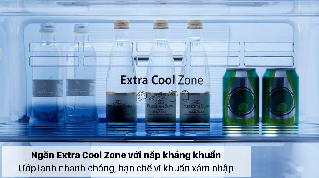 Tủ lạnh Panasonic Inverter 326 lít NR-TL351GPKV - Ngăn Extra Cool Zone