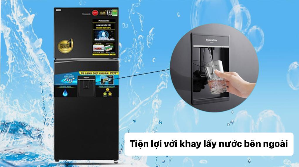 Tủ lạnh Panasonic Inverter 326 lít NR-TL351GPKV - Lấy nước ngoài
