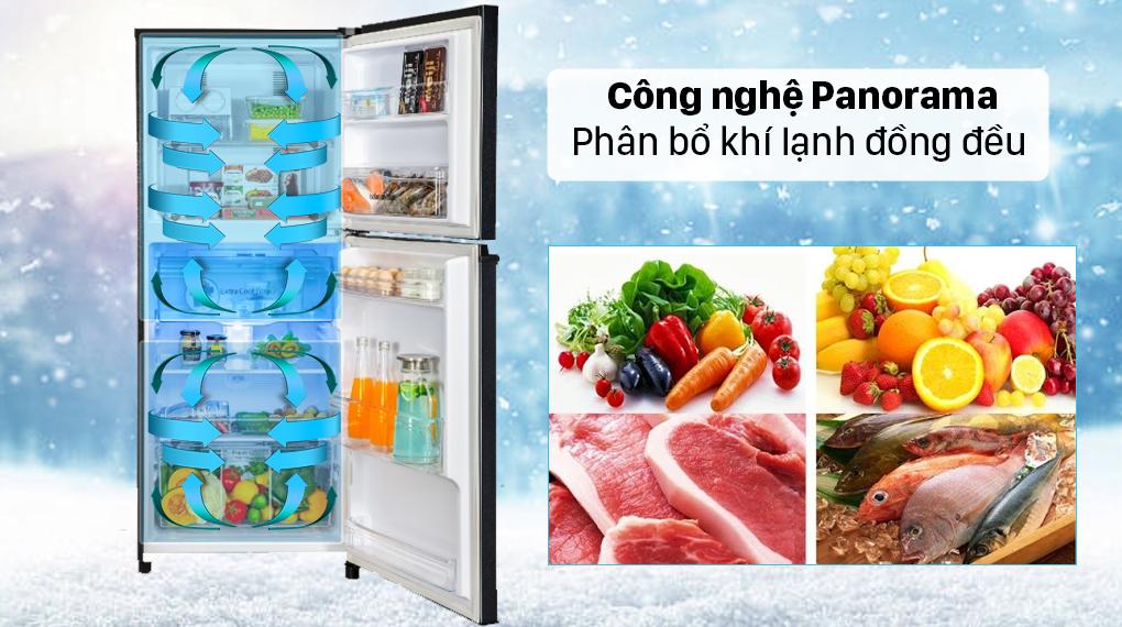Tủ lạnh Panasonic Inverter 326 lít NR-TL351GPKV - Công nghệ làm lạnh vòm Panorama