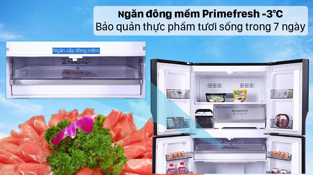 Tủ lạnh Panasonic Inverter 550 lít NR-DZ601VGKV - Ngăn đông mềm Primefresh