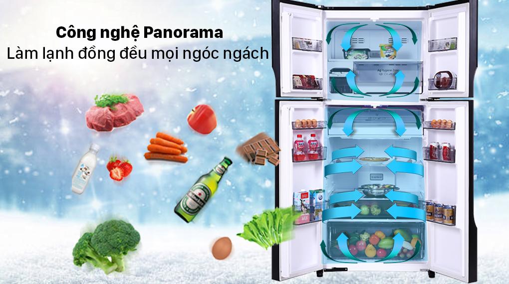 Tủ lạnh Panasonic Inverter 550 lít NR-DZ601VGKV - Công nghệ Panorama