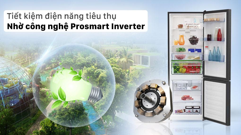 Tiết kiệm điện năng tiêu thụ nhờ công nghệ Prosmart Inverter