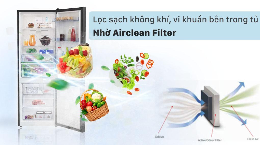 Lọc sạch không khí, vi khuẩn bên trong tủ cùng Airclean Filter