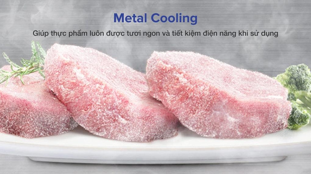 Tủ lạnh Samsung Inverter 599 lít RF60A91R177/SV - Chống thất thoát hơi lạnh, giữ thực phẩm tươi ngon nhờ công nghệ Metal Cooling