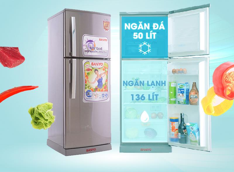 Thiết kế tủ lạnh ngăn đá trên quen thuộc với người tiêu dùng