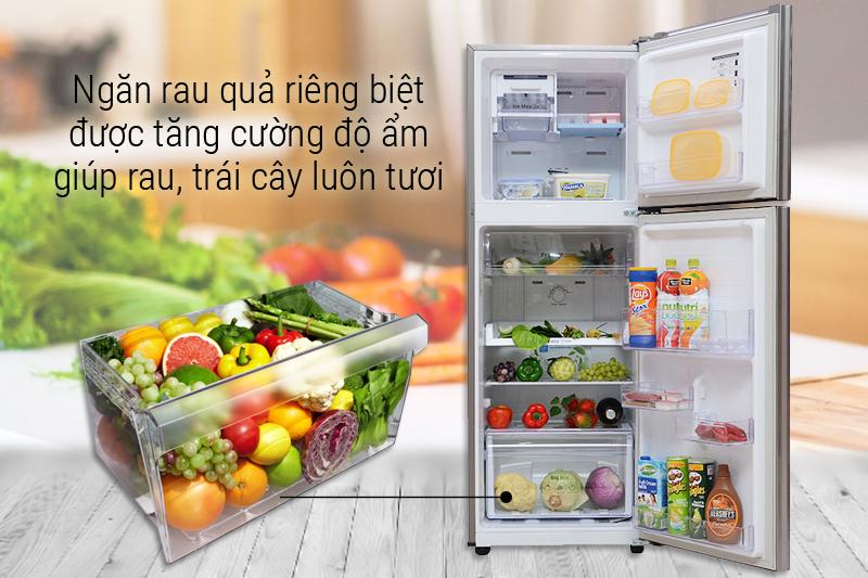 Ngăn rau quả giữ ẩm tốt