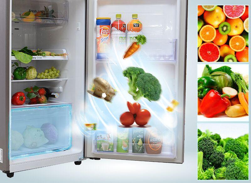 Công nghệ lưu trữ rau củ của tủ lạnh Samsung RT22FARBDSA được tối ưu hóa
