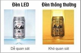 Hệ thống chiếu sáng bằng đèn LED tiết kiệm điện