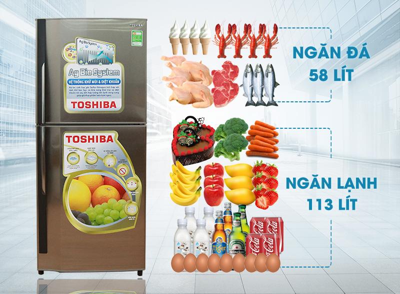 Tủ lạnh Toshiba GR-S19VUP