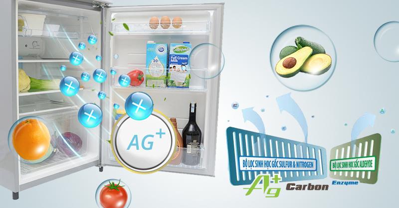 Tủ lạnh Toshiba GR-S21VUB được tích hợp công nghệ Hybrid Bio