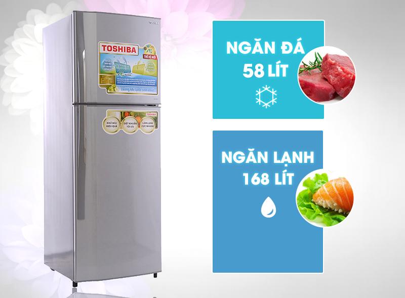 Tủ lạnh Toshiba GR-S25VPB