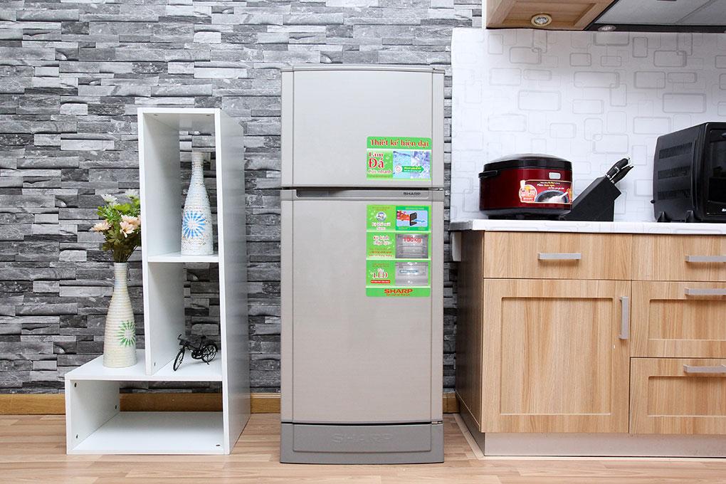 Tủ lạnh Sharp SJ-166S-SC – Thực phẩm tươi ngon với bộ khử mùi Nano Ag+