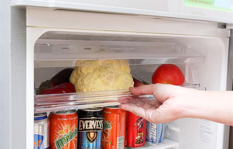 Tủ lạnh làm lạnh tốt dù bạn đặt thực phẩm ở bất kỳ vị trí nào