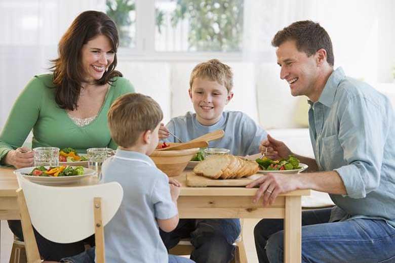 Dung tích tủ lạnh phù hợp với gia đình có 4, 5 thành viên