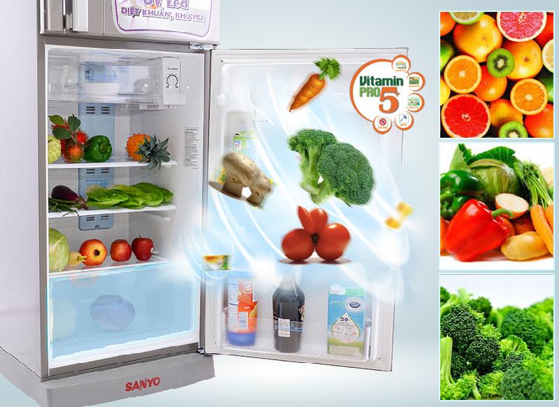 Vitamin Pro5+ cung cấp vitamin, cân bằng độ ẩm, giữ thực phẩm luôn tươi mới