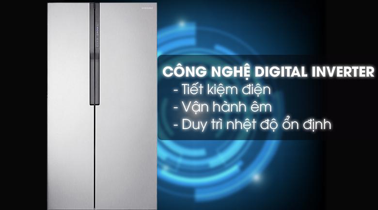 Công nghệ Inverter - Tủ lạnh Samsung Inverter 548 lít RS552NRUASL/SV