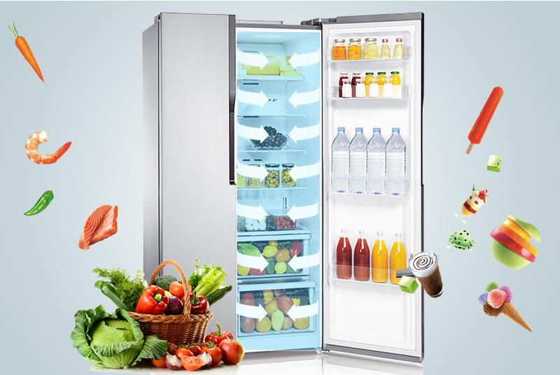 Duy trì độ ẩm tối ưu nhờ hệ thống Twin Cooling System