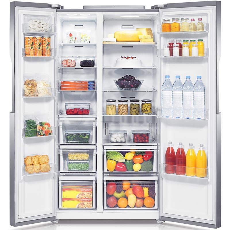 Trang bị đèn led giúp dễ dàng quan sát thực phẩm nhưng vẫn tiết kiệm điện
