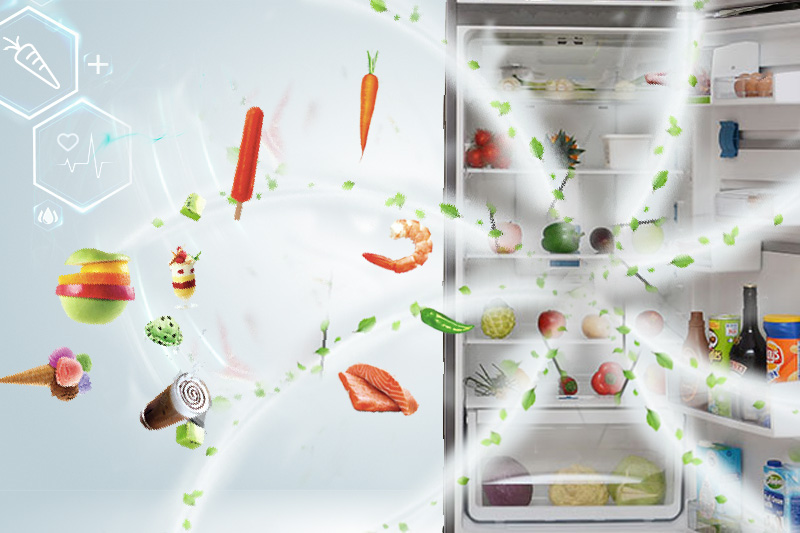 Tủ lạnh Electrolux ETB3500PE-RVN có công nghệ DeoFresh khử mùi
