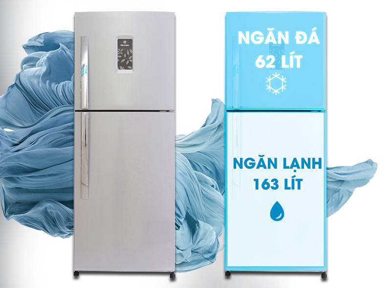 Tủ lạnh Electrolux ETB2300PE-RVN có thiết kế mới lạ và độc đáo