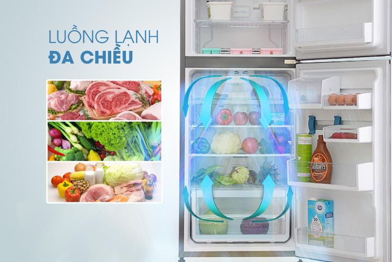 MultiFlow là hệ thống làm lạnh đa chiều độc đáo của tủ lạnh Electrolux ETB2300PE-RVN