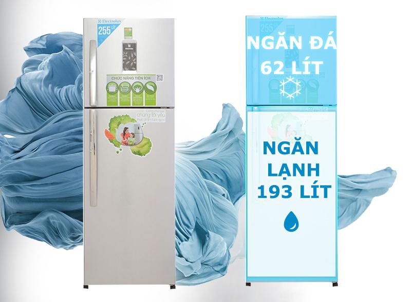 Tủ lạnh Electrolux ETB2600PE-RVN có khả năng bảo quản tốt thực phẩm bên trong