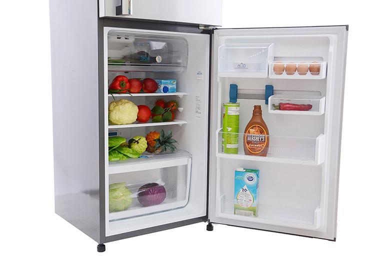 Tủ lạnh có hệ thống khay kệ linh hoạt tiện lợi