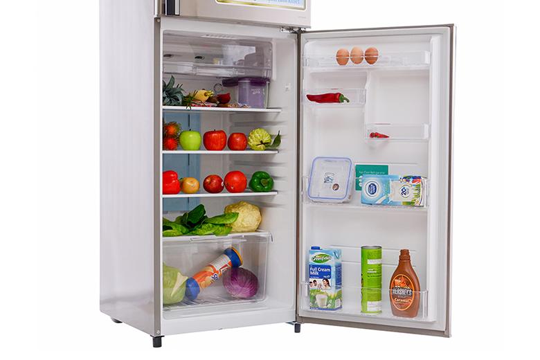 Với công nghệ làm lạnh vòng cung đảm bảo thực phẩm bên trong tủ luôn được làm lạnh