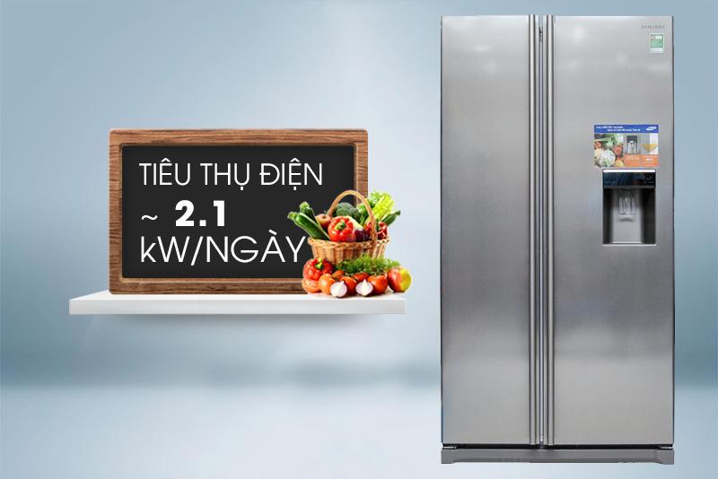 Tủ lạnh Samsung RSA1WTSL1/XSV sử dụng những công nghệ tiên tiến, tiết kiệm điện năng tối ưu