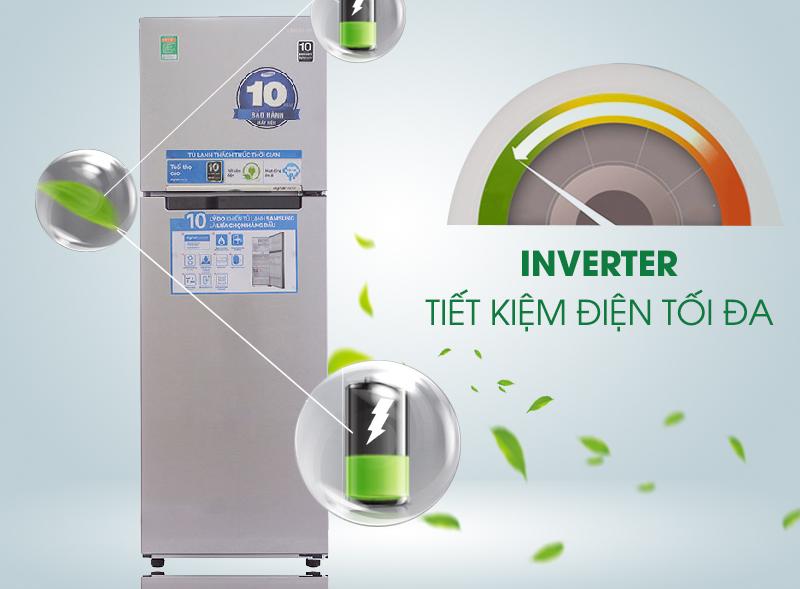 Công nghệ Inverter vận hành bền bỉ