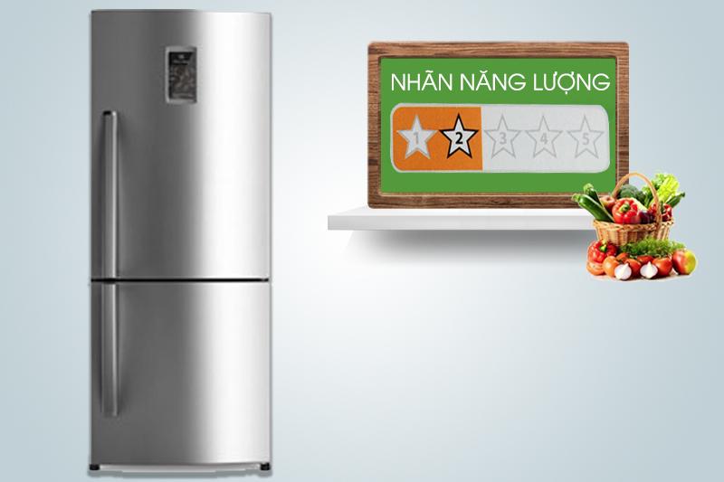 Tủ lạnh Electrolux EBB2600PA có khả năng tiêu thụ điện năng ít nhờ các công nghệ tiên tiến của mình