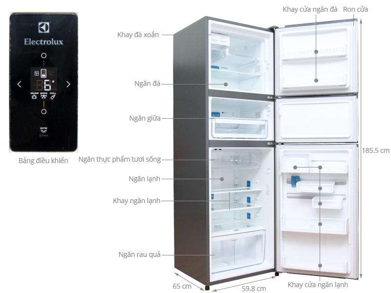 tủ lạnh electrolux tiết kiệm điện