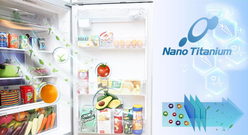 Màng lọc khí Nano Titanium