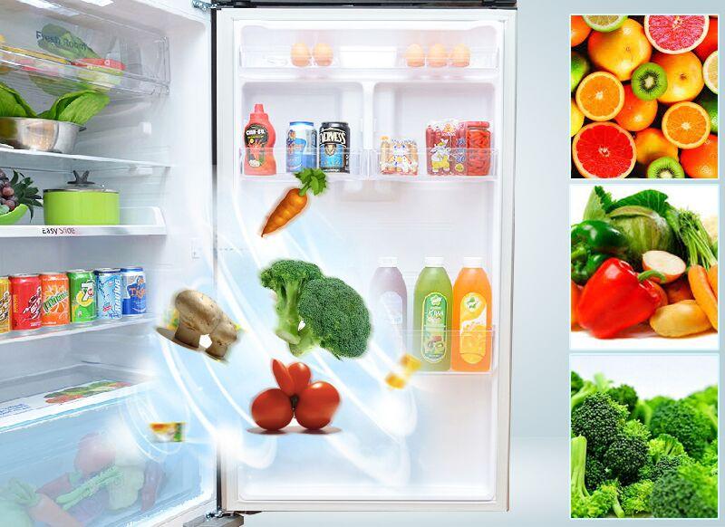 Ngăn rau, củ của tủ lạnh Samsung RT38FEAKDSL có thể ổn định độ ẩm tối ưu