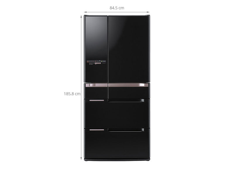 Thông số kỹ thuật Tủ lạnh Hitachi R-C6800S 707 lít