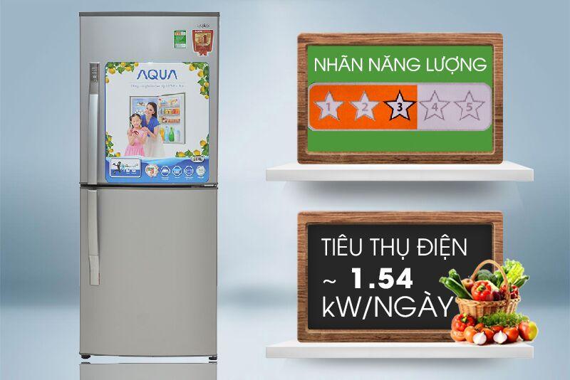 Với điện năng tiêu thụ khoảng 1.54 kW trong mỗi ngày, tủ lạnh Sanyo SR-Q345RB sẽ tiết kiệm được cho bạn kha khá khoảng tiền