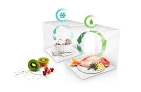 Thực phẩm tươi ngon với hệ thống làm lạnh kép Twin Cooling